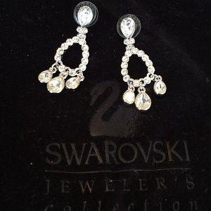 Swarovski Jeweler's Collection Earrings New